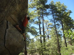Rock Climbing Photo: Zorro at Groom Creek