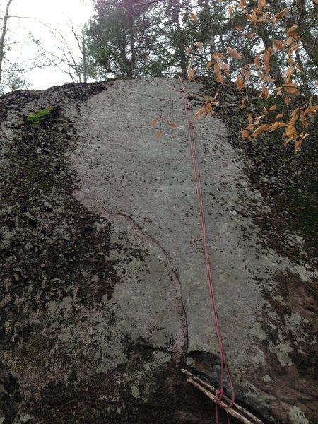 Rock Climbing Photo: Oz Slab.