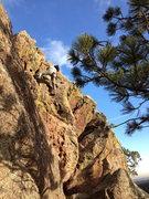 Rock Climbing Photo: Works as a downclimb also....