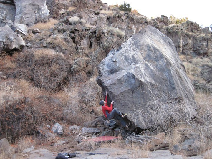 Rock Climbing Photo: separation boulder