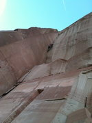 Rock Climbing Photo: Think Pink, Battle of the Bulge Buttress