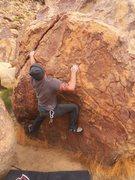 Rock Climbing Photo: The sit start on this one makes her fun fun fun...