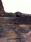 Rock Climbing Photo: The spectacular start of Doin' The Good Drive