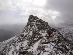 Rock Climbing Photo: Blitzen Ridge - Ypsilon Mtn. RMNP. November 18th 2...