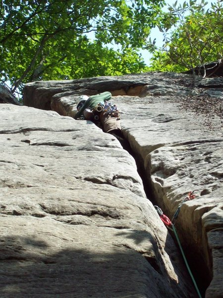Rock Climbing Photo: Canadian fire fighter Dave Brown has a thing for o...
