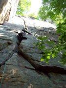 Rock Climbing Photo: Starting Crescent Moon