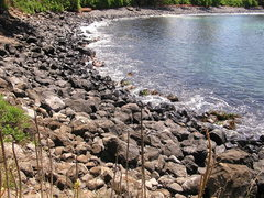 Rock Climbing Photo: Rocky shore line in the back of the bay Photo: Ola...