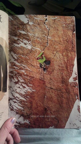 Rock Climbing Photo: As seen in the 2012 Prana winter catalog by Andrew...