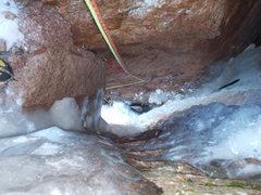 Rock Climbing Photo: Pitch 3: 80 ft off 3rd belay.