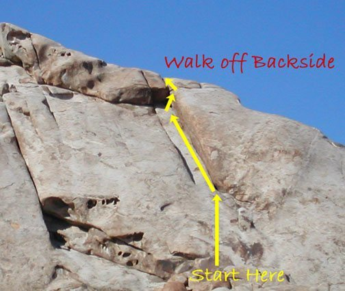 Rock Climbing Photo: Monkey Route