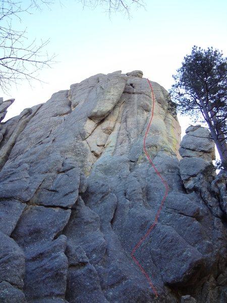 Rock Climbing Photo: Troll Toll 13-