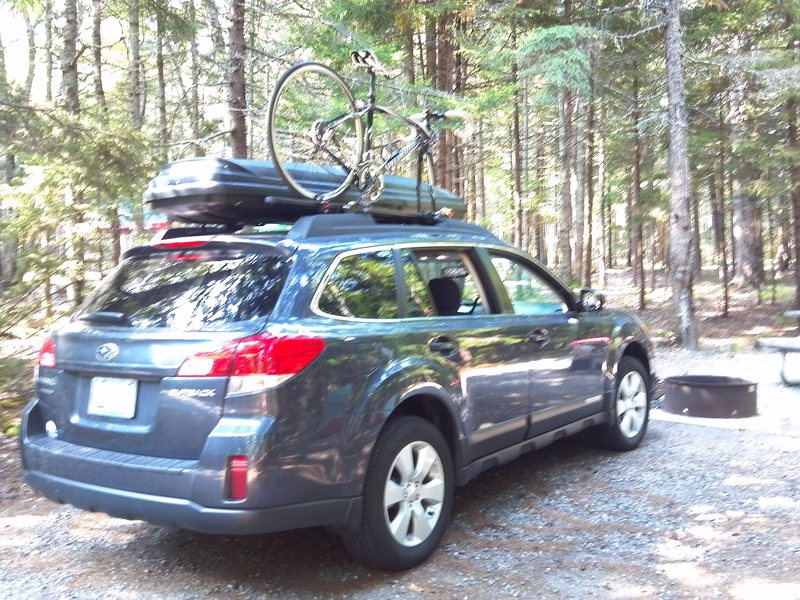 Car Camping in New Hampshire......