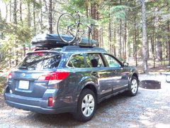 Rock Climbing Photo: Car Camping in New Hampshire......