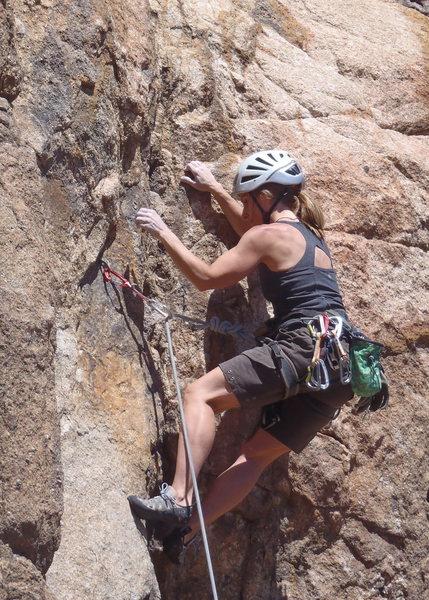 Rock Climbing Photo: Lead Climbing Watson Lake, Prescott AZ