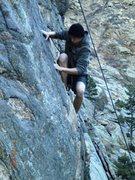 Rock Climbing Photo: Deuces Wild final move of crux
