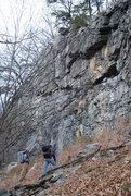 Rock Climbing Photo: Balcony Jr. one fine winter day
