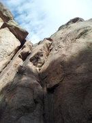 Rock Climbing Photo: Looking up from the base of Tonto.