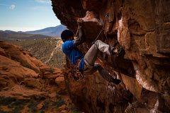 Rock Climbing Photo: gambler