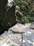 Rock Climbing Photo: Second Pitch - great ramp climbing with even bette...