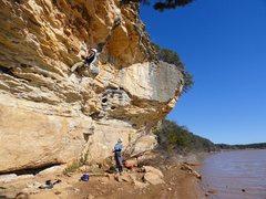 Rock Climbing Photo: On Candygram For Mongo.