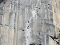 Rock Climbing Photo: Unknown climbers on the Prow