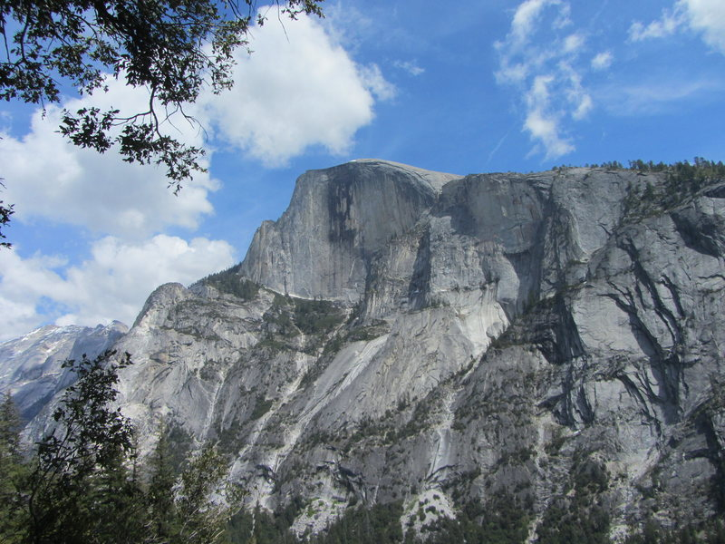 View of Half Dome from the base of the Prow