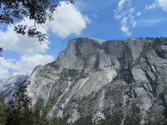 Rock Climbing Photo: View of Half Dome from the base of the Prow