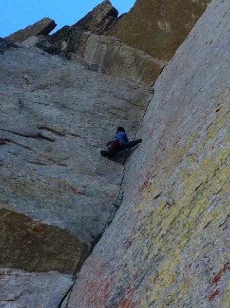 Rock Climbing Photo: Dan on OZ