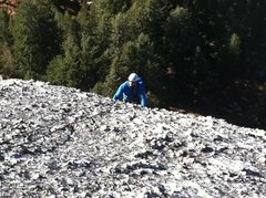 Rock Climbing Photo: knobs on the Gram Traverse
