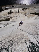 Rock Climbing Photo: Table of Contents. Stately Pleasure. Some good and...