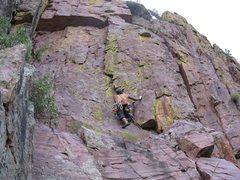 Rock Climbing Photo: Iso Canyon, Red Zinger