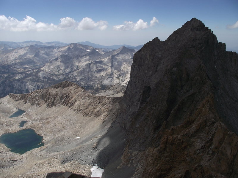 Black Kaweah and the Great Western Divide from Pyramidal Pinnacle