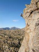 Rock Climbing Photo: Jimbo belayed by Don V.