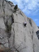 Rock Climbing Photo: Shake it Up.