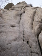 Rock Climbing Photo: Strangeways. The first 50ft.