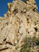 Rock Climbing Photo: Jimbo and Don V. at the start of the corner system...