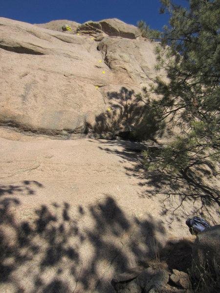 Rock Climbing Photo: Nice, sunny location.