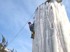Rock Climbing Photo: Real ice in Chicagoland area.