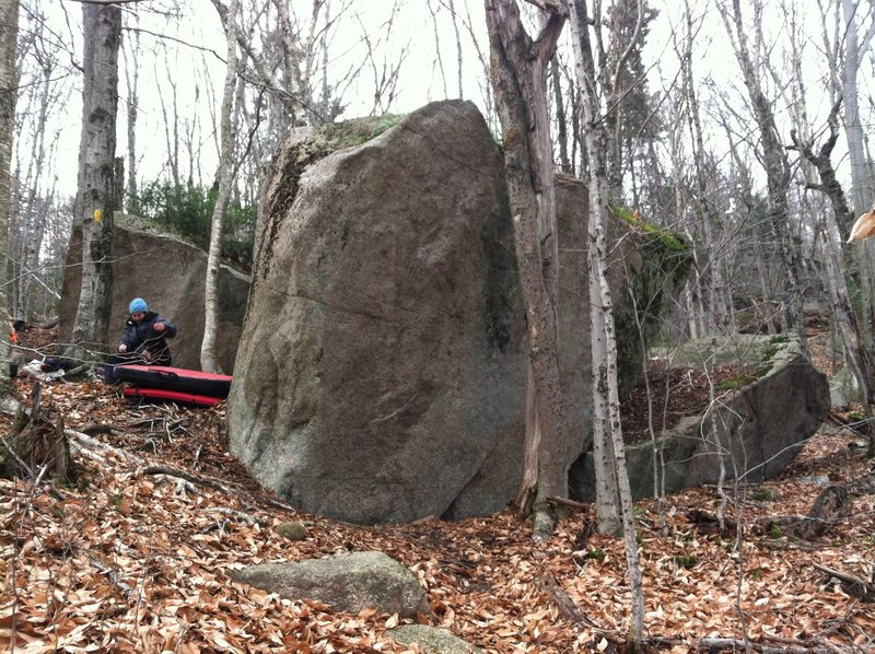 The Widowmaker Area from the top of the Corridor Boulders.