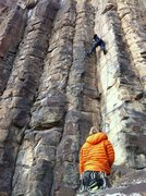 Rock Climbing Photo: Reggie on In Your Face.
