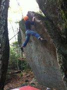 Rock Climbing Photo: Evening Arete