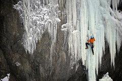 Rock Climbing Photo: Alaska highway ice