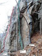 Rock Climbing Photo: Iceberg Arete