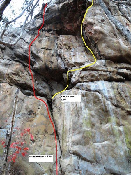 Rock Climbing Photo: Necromancer
