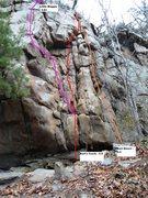 Rock Climbing Photo: Bart's Crack