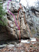 Rock Climbing Photo: Little Maggie