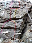 Rock Climbing Photo: Chunks
