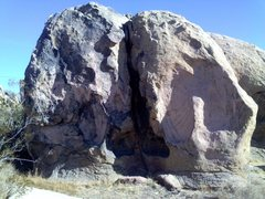 Rock Climbing Photo: Follow crack or just left of for the light.