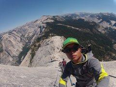 Rock Climbing Photo: Half dome Cables