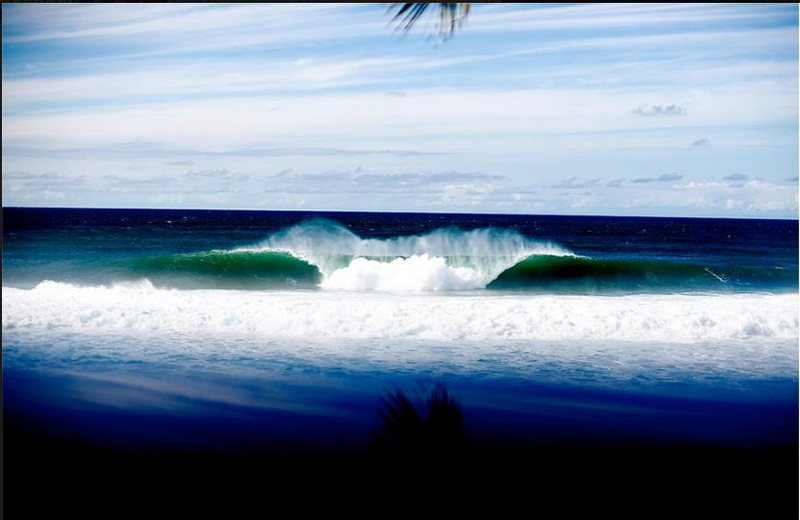 Rock Climbing Photo: Classic Pipeline north shore Oahu